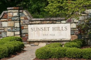 sunset hills photo